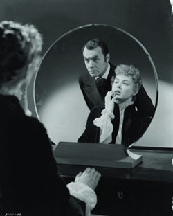 Still from George Cukor's 1944 film Gaslight with Charles Boyer and Ingrid Bergman
