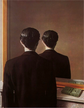 Not To Be Reproduced by Rene Magritte
